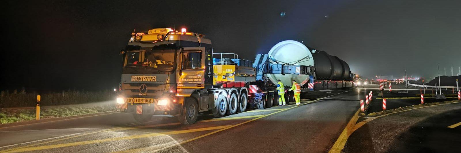 Nehézteher-szállítás a környezetbarát energia szolgálatában Slider